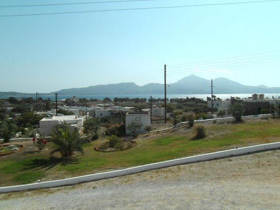 Konstantinos: View from our room - 1st floor