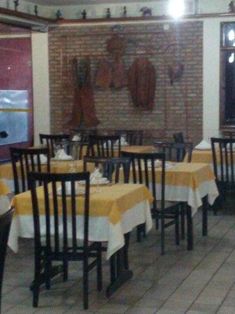 Gibao de Couro: Ambiente típico