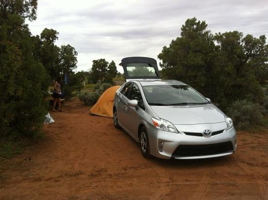 Spider Rock Campground : campground Spider Rock