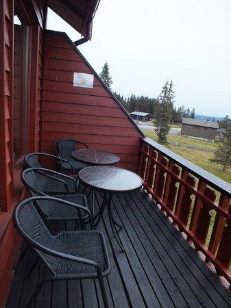 Lillehammer Fjellstue: Balkon