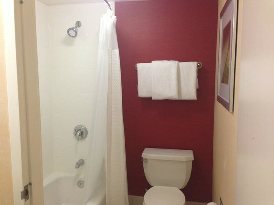Courtyard Los Angeles Hacienda Heights/Orange County : Bathroom