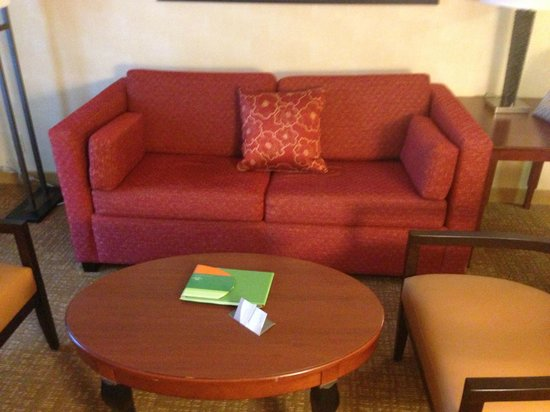 Courtyard Los Angeles Hacienda Heights/Orange County : Sitting Area