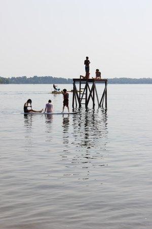 Fair Hills Resort : Fun on the lake