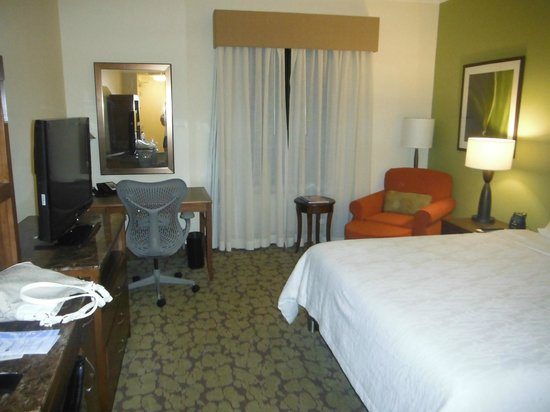 Hilton Garden Inn Panama: Quarto espaçoso