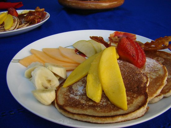 Hacienda Alemana : Irma's Pancakes!