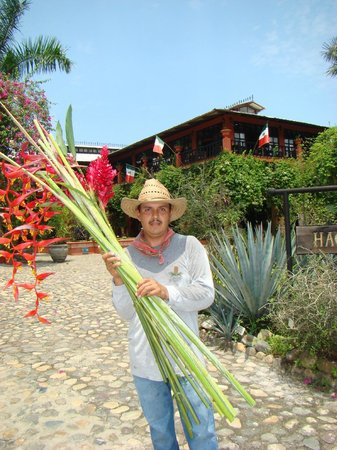 Hacienda Alemana: At the Botanical Gardens