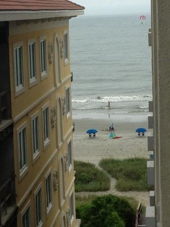 3 Palms Oceanfront Myrtle Beach : partial view room