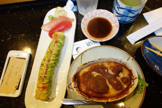 Toshi Sushi: oyster pâté