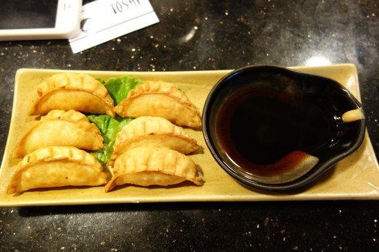 Toshi Sushi: dumplings