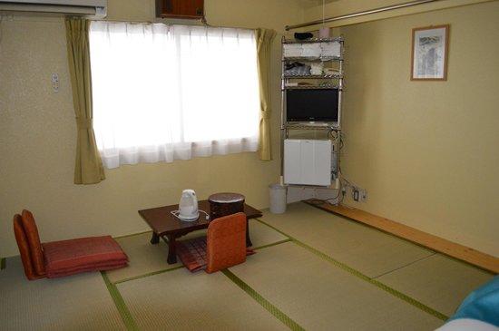 Kyoto White Hotel : Quarto triplo
