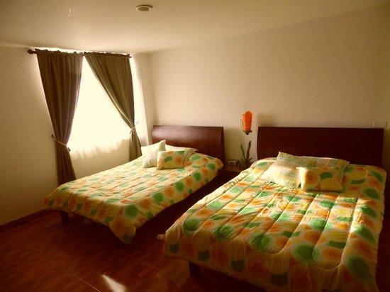 Hotel La Terraza: Habitación 2A.