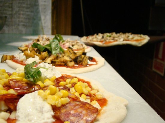 Pizzeria L'Antica Napoli : Mario el pizzaiolo emplea todo su amor