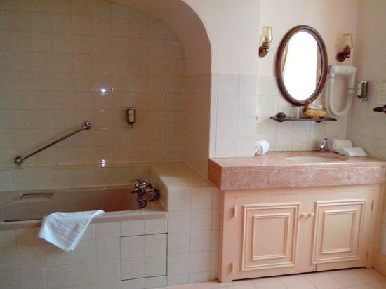 Manoir d'Hautegente : La salle de bain