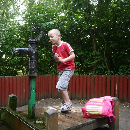Conkers: The water pump area - my kids loved this the most!