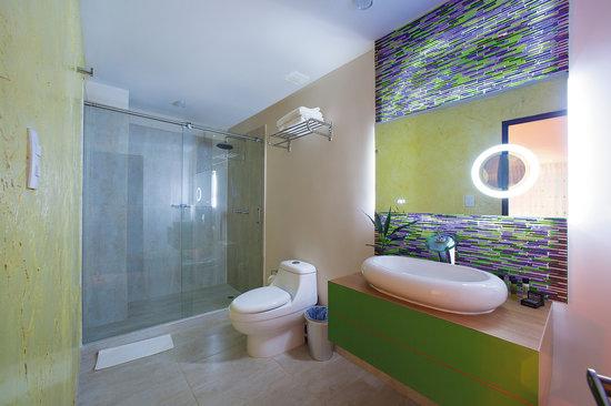 Haus Hotel: Baño tipo