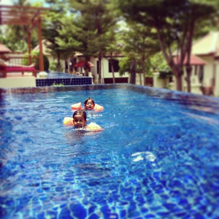 The Briza Beach Resort Samui: our big pool