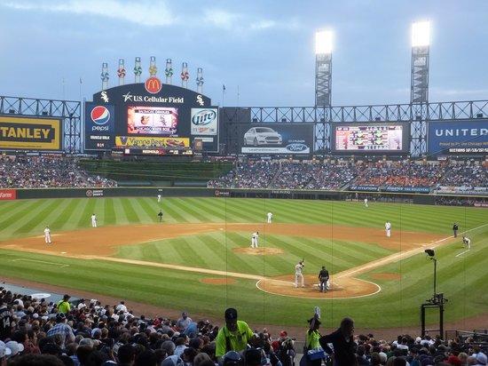 US Cellular Field: White Sox vs Orioles