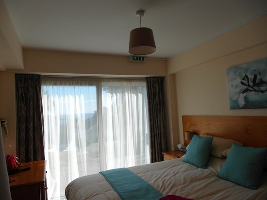 Windmills Hotel: Bedroom with a view :)