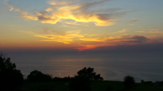 Gudamendi Hotel: puesta sol