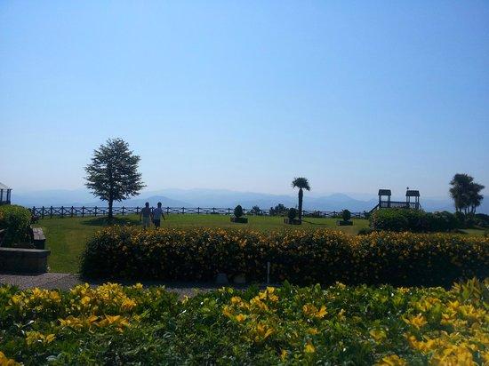 Gudamendi Hotel: vista jardin