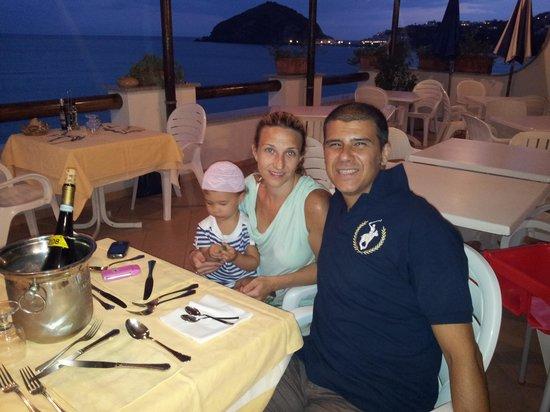 Hotel La Gondola : cena