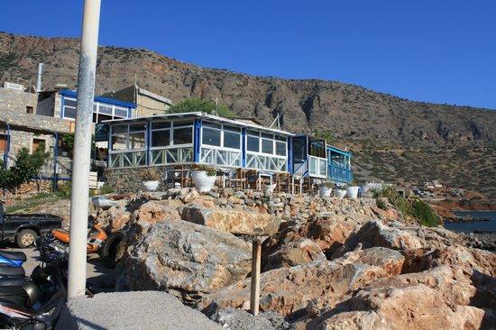 Athina Villas : Restaurant