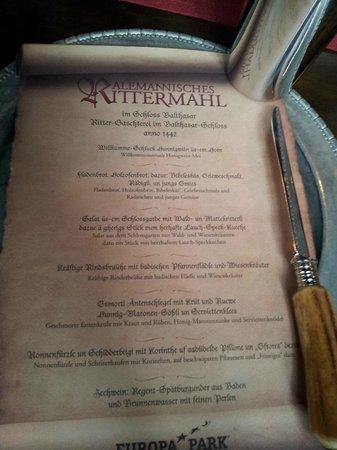 Schloss Balthasar : o nenu em alemão medieval