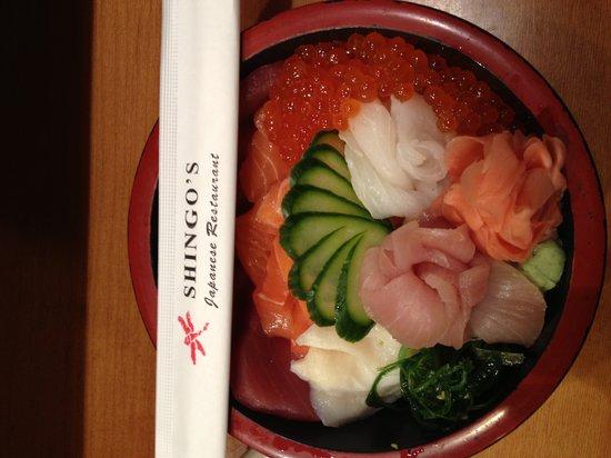 Shingo's Japanese Restaurant: Chirashi