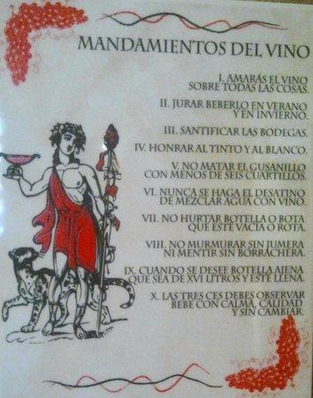 Hotel Los Agustinos: cartel
