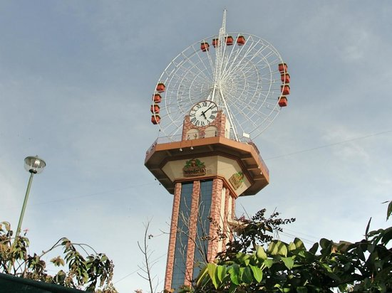 Wonderla Amusement Park: Giant Wheel @ Wonderla