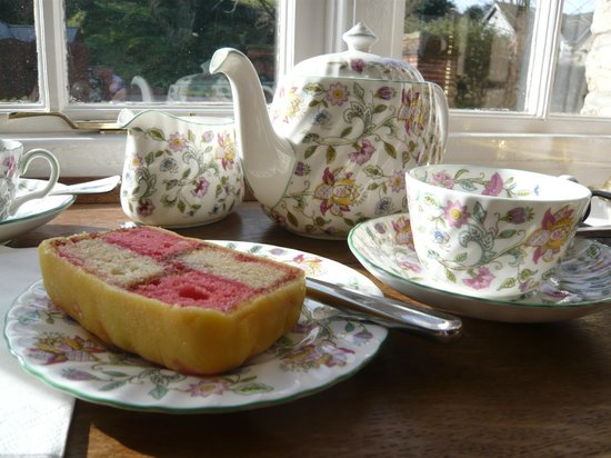 Branscombe House: Afternoon tea