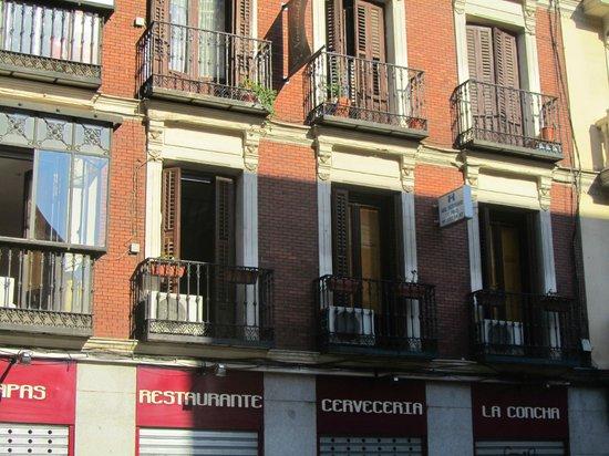 Hostal Abel Victoriano: hotel facade
