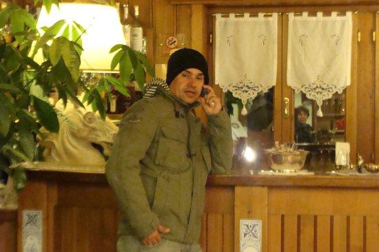 Ambra Hotel: Recepção