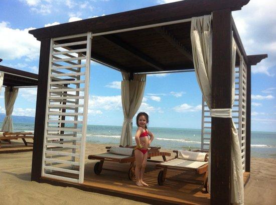 Villaggio Emmanuele: il nostro gazebo sulla spiaggia