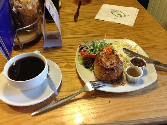 The Apple Pie: Pork Pie & Coffee
