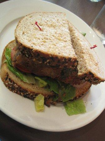 Mudgie's : Meatloaf sandwich.
