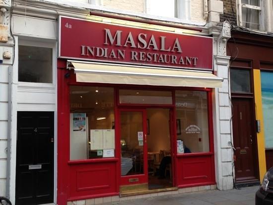Masala Restaurant, 4, Hogarth Road, London SW5 0PT