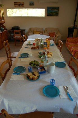 Bed & Breakfast La Pitriaca: Tavolo Colazione