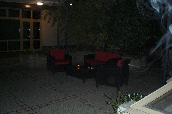 Adina Apartment Hotel Budapest: Garden area