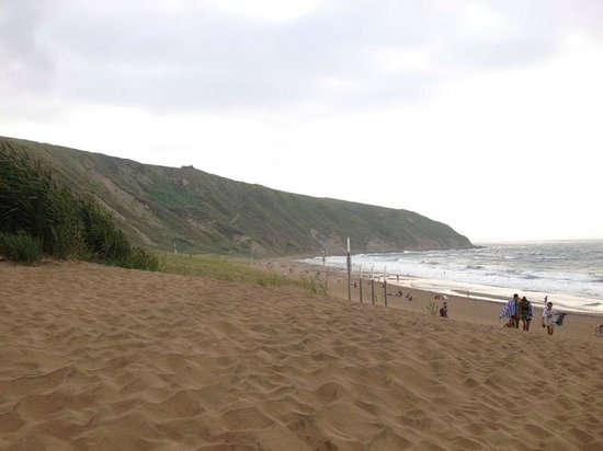 Sopelana Beach: vista dalla spiaggia