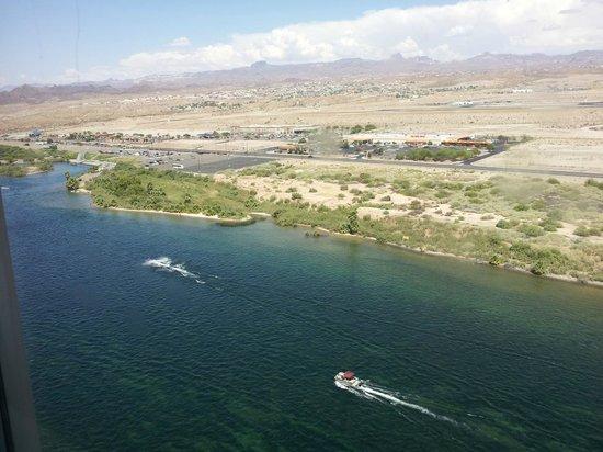 Edgewater Hotel & Casino: View of the Colorado River