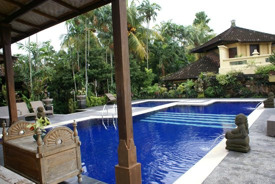 Taman Harum Cottages: as soon as you open the door for entering the pool privately from your room......