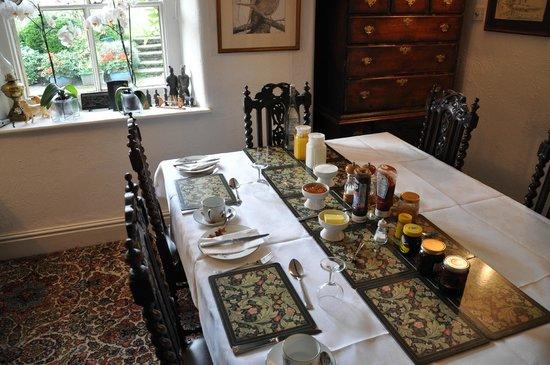 Fold Farm Guest House: Breakfast room