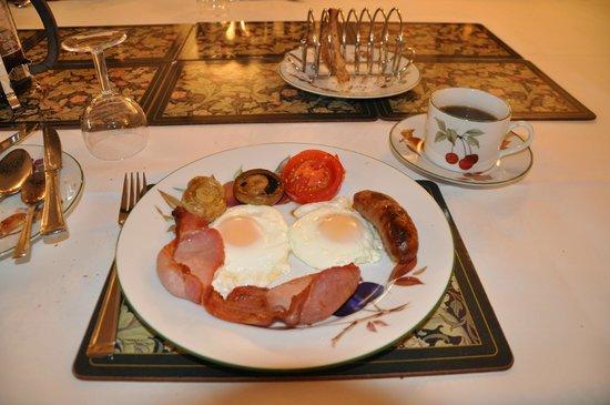 Fold Farm Guest House: Full English Breakfast!