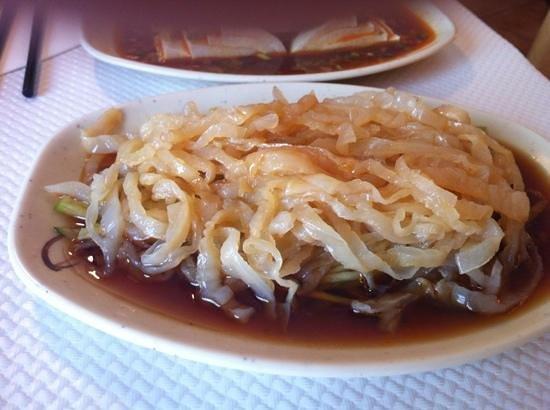 Les Pates vivantes: salade de meduse