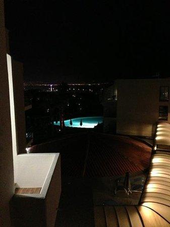 Hotel Baie des Anges: vue de notre chambre