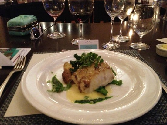 St. Francis Winery & Vineyards : Seared Sea Bass - AMAZING!