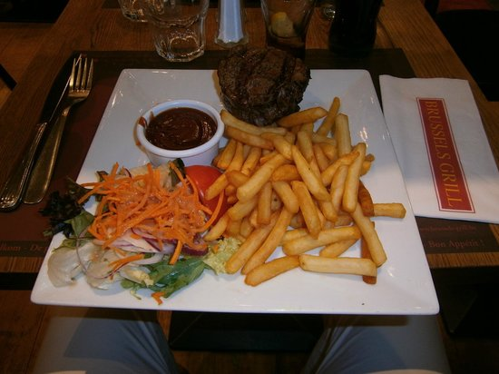 Brussels Grill - Debrouckere : entrecote