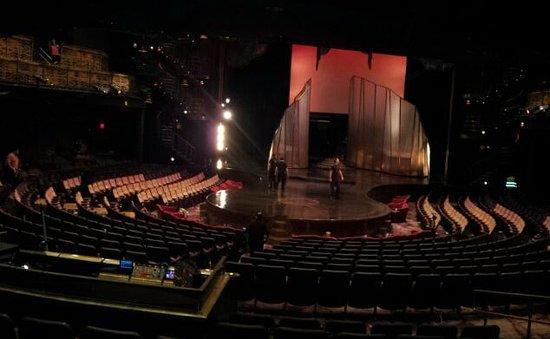 Zumanity - Cirque du Soleil : The stage