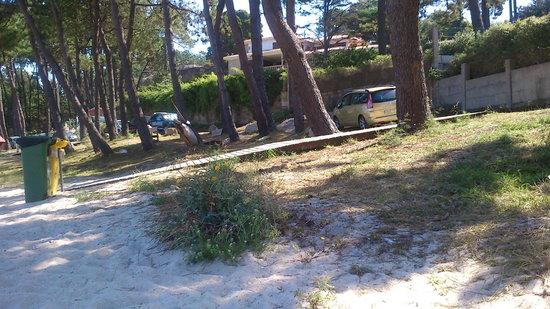 Playa Area das Pipas: Das Pipas beach in San Vicente de O Grove